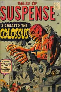 Cover for Tales of Suspense (Marvel, 1959 series) #14