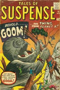 Cover Thumbnail for Tales of Suspense (Marvel, 1959 series) #15