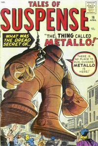 Cover Thumbnail for Tales of Suspense (Marvel, 1959 series) #16
