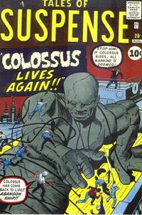 Cover Thumbnail for Tales of Suspense (Marvel, 1959 series) #20