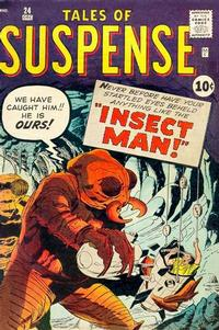 Cover Thumbnail for Tales of Suspense (Marvel, 1959 series) #24