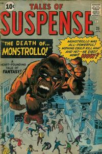 Cover Thumbnail for Tales of Suspense (Marvel, 1959 series) #25