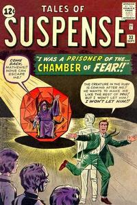 Cover Thumbnail for Tales of Suspense (Marvel, 1959 series) #33