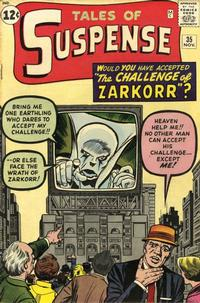 Cover Thumbnail for Tales of Suspense (Marvel, 1959 series) #35