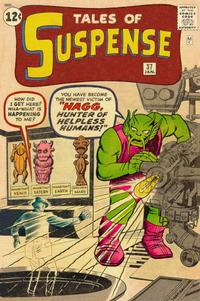 Cover Thumbnail for Tales of Suspense (Marvel, 1959 series) #37