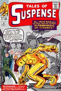 Cover Thumbnail for Tales of Suspense (Marvel, 1959 series) #41