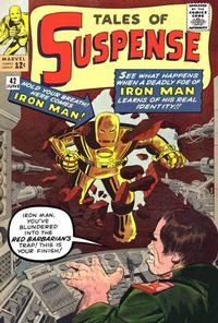Cover Thumbnail for Tales of Suspense (Marvel, 1959 series) #42