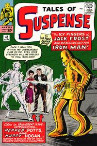 Cover Thumbnail for Tales of Suspense (Marvel, 1959 series) #45