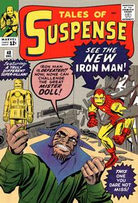 Cover Thumbnail for Tales of Suspense (Marvel, 1959 series) #48