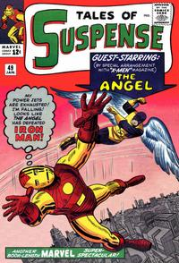 Cover for Tales of Suspense (Marvel, 1959 series) #49