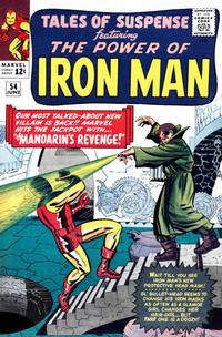 Cover Thumbnail for Tales of Suspense (Marvel, 1959 series) #54 [Regular Edition]