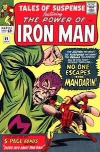Cover Thumbnail for Tales of Suspense (Marvel, 1959 series) #55