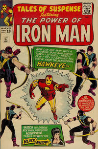 Cover Thumbnail for Tales of Suspense (Marvel, 1959 series) #57