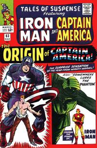 Cover Thumbnail for Tales of Suspense (Marvel, 1959 series) #63