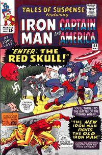 Cover for Tales of Suspense (Marvel, 1959 series) #65