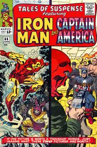 Cover for Tales of Suspense (Marvel, 1959 series) #66