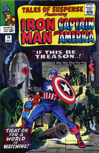 Cover Thumbnail for Tales of Suspense (Marvel, 1959 series) #70