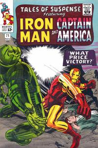 Cover Thumbnail for Tales of Suspense (Marvel, 1959 series) #71