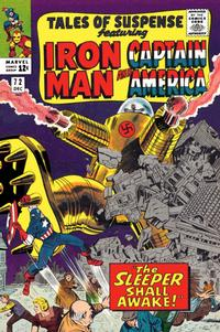 Cover for Tales of Suspense (Marvel, 1959 series) #72