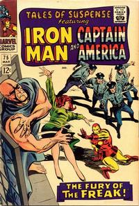 Cover Thumbnail for Tales of Suspense (Marvel, 1959 series) #75 [Regular Edition]
