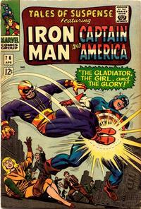 Cover Thumbnail for Tales of Suspense (Marvel, 1959 series) #76 [Regular Edition]