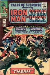 Cover for Tales of Suspense (Marvel, 1959 series) #78 [Regular Edition]