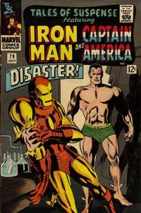 Cover Thumbnail for Tales of Suspense (Marvel, 1959 series) #79 [Regular Edition]