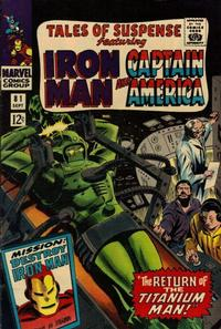Cover Thumbnail for Tales of Suspense (Marvel, 1959 series) #81 [Regular Edition]