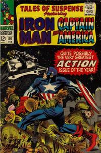 Cover Thumbnail for Tales of Suspense (Marvel, 1959 series) #86 [Regular Edition]