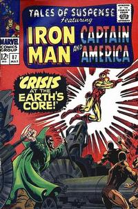 Cover Thumbnail for Tales of Suspense (Marvel, 1959 series) #87 [Regular Edition]