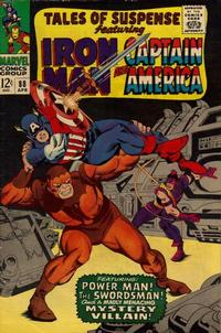 Cover Thumbnail for Tales of Suspense (Marvel, 1959 series) #88 [Regular Edition]