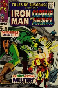 Cover Thumbnail for Tales of Suspense (Marvel, 1959 series) #89 [Regular Edition]