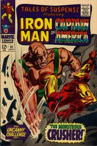 Cover Thumbnail for Tales of Suspense (Marvel, 1959 series) #91 [Regular Edition]