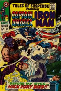 Cover Thumbnail for Tales of Suspense (Marvel, 1959 series) #92