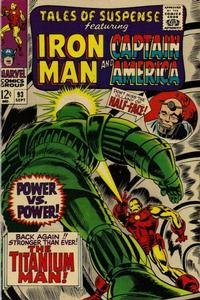 Cover Thumbnail for Tales of Suspense (Marvel, 1959 series) #93