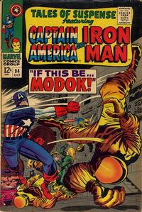 Cover Thumbnail for Tales of Suspense (Marvel, 1959 series) #94