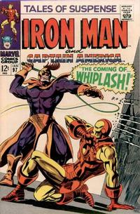 Cover Thumbnail for Tales of Suspense (Marvel, 1959 series) #97