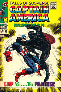 Cover Thumbnail for Tales of Suspense (Marvel, 1959 series) #98