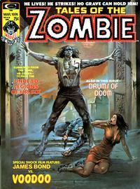 Cover Thumbnail for Zombie (Marvel, 1973 series) #v2#1 [4]