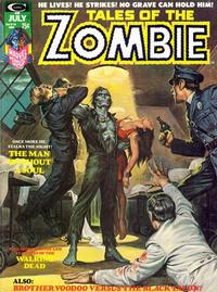 Cover Thumbnail for Zombie (Marvel, 1973 series) #6