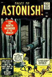 Cover Thumbnail for Tales to Astonish (Marvel, 1959 series) #1