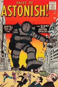 Cover Thumbnail for Tales to Astonish (Marvel, 1959 series) #3