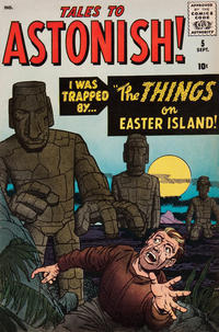 Cover Thumbnail for Tales to Astonish (Marvel, 1959 series) #5