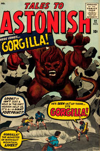 Cover Thumbnail for Tales to Astonish (Marvel, 1959 series) #12