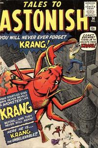 Cover Thumbnail for Tales to Astonish (Marvel, 1959 series) #14