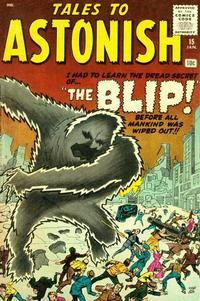 Cover Thumbnail for Tales to Astonish (Marvel, 1959 series) #15