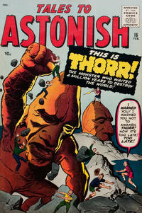 Cover Thumbnail for Tales to Astonish (Marvel, 1959 series) #16
