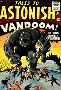 Cover Thumbnail for Tales to Astonish (Marvel, 1959 series) #17