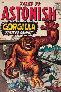 Cover Thumbnail for Tales to Astonish (Marvel, 1959 series) #18