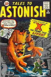 Cover Thumbnail for Tales to Astonish (Marvel, 1959 series) #20